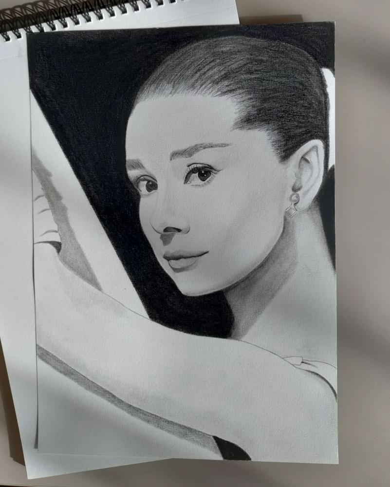 Audrey Hepburn par marjo